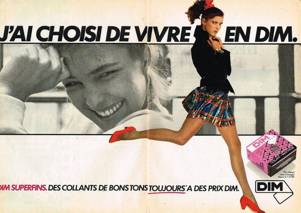publicité-ancienne-vintage-nom-de-marque-dim-collants-agence-de-naming-bénéfik-paris-création-noms-de-marques